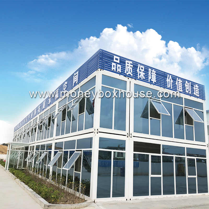 China Supplier Prefab Steel Building Prefabricated House Prefab House